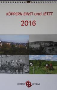 Köppern- Kalender  2016