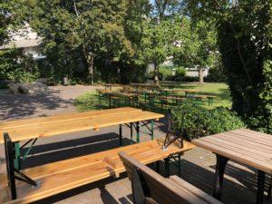 Plan und Gemütlichkeit im Köpperner Kirchgarten